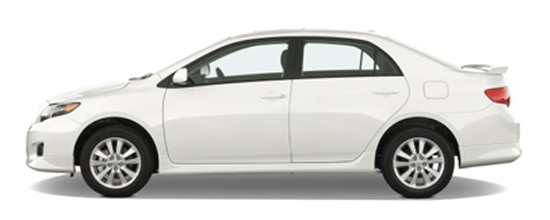 Large Sedan - Hire Car Perth